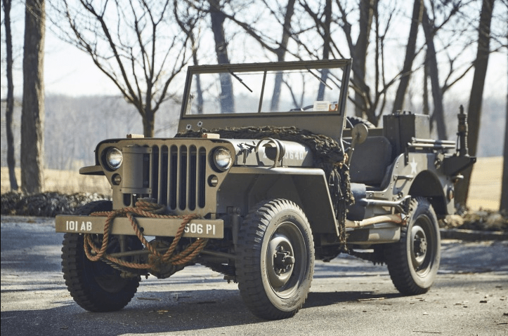 Willys MB produced 1941 - 1945