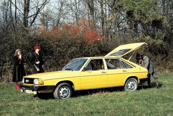 Audi 100 и 200 С2 1977 - 1983