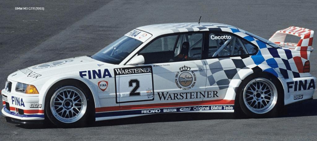 BMW M3 GTR 1993