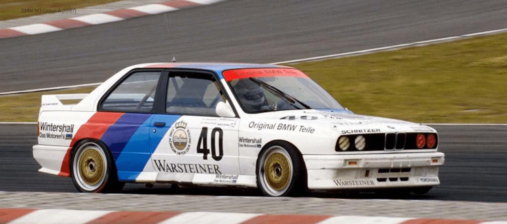 BMW M3 Group A 1987