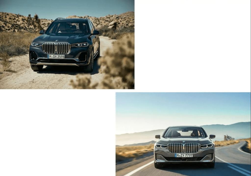 BMW X7, BMW 7 Series (2019)
