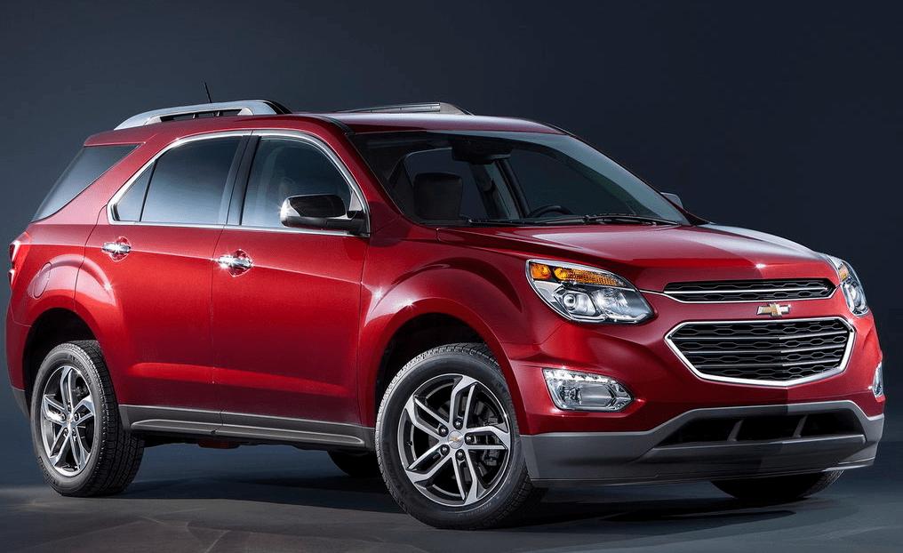 Chevrolet Equinox restyled 2015