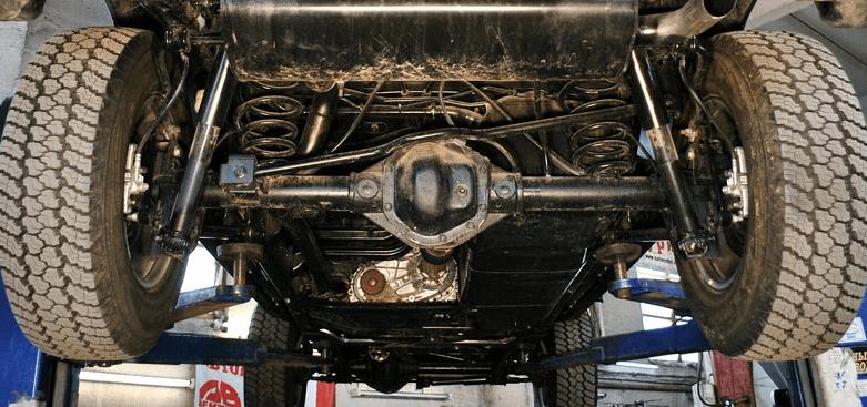 Jeep Wrangler axles