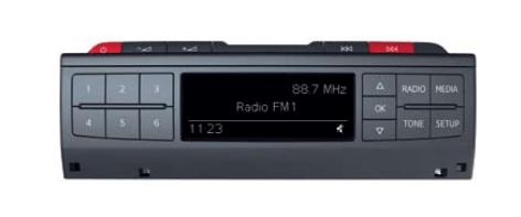 Restarting the system on Audi Radio (MIB Entry)