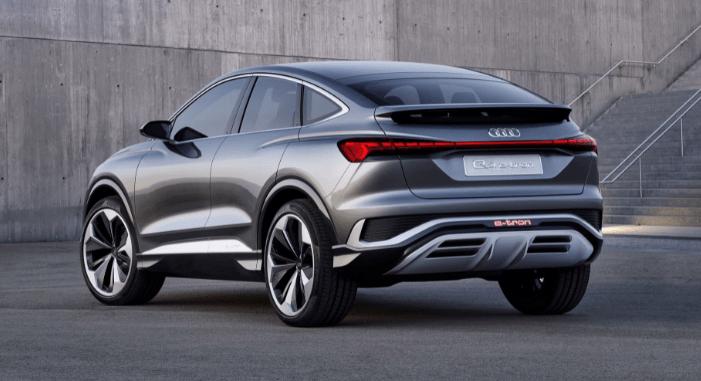 Sportback e-tron exterior