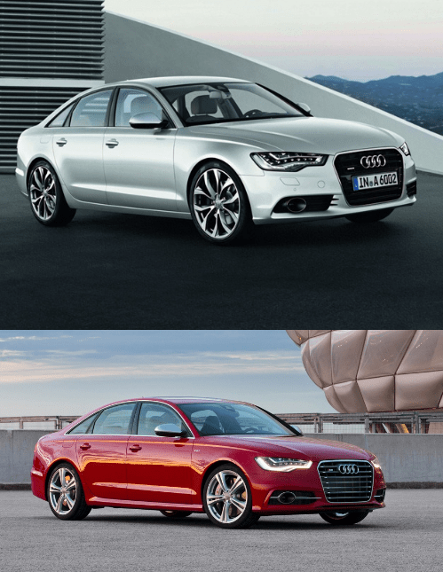 Audi A6 and S6 comparison
