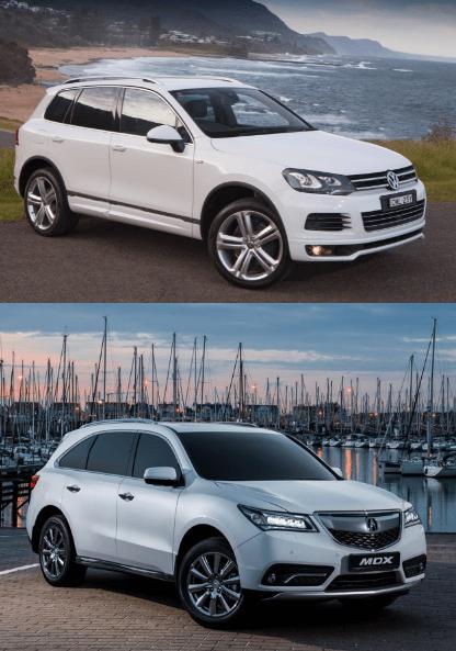 Acura MDX vs Volkswagen Touareg
