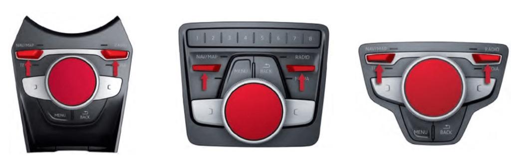 audi a3 system reset key combination