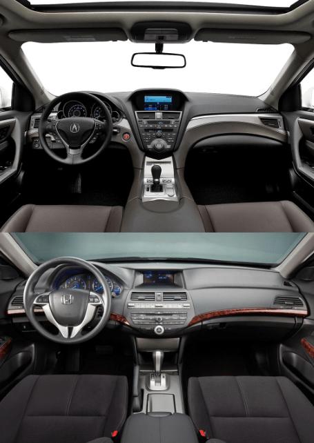 different interiors
