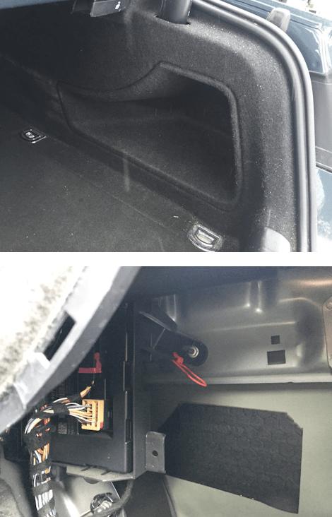 open an Audi A5 gas tank